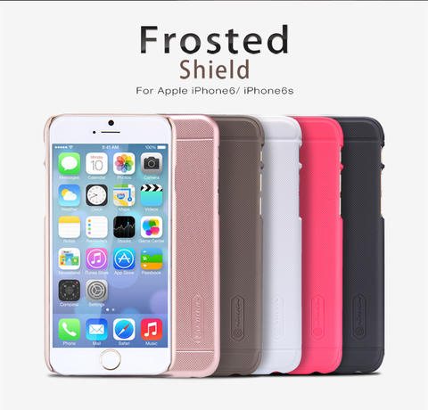 NILLKIN HARDCASE IPHONE 6/6S & 6+/6S+ COLOUR ROSEGOLD LIMITED EDITION