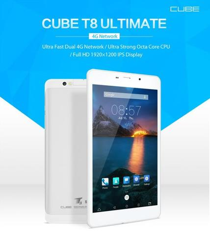 Cube T8 ultimate 4G Phablet MTK8783 Octa Core Android 5.1 2GB/16GB