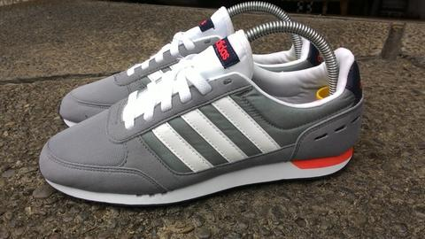 ... greece 100 original adidas neo city racer grey white muraahhh. 015c7  b759b 36b97c1b29