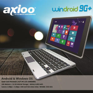 Tablet Netbook AXIOO Windroid 9+