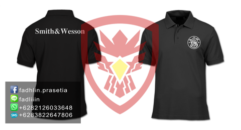 [PO] SMITH AND WESSON POLO SHIRT