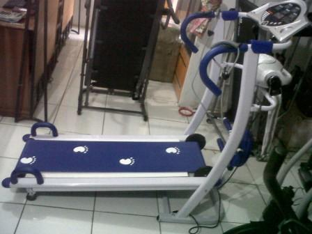 Treadmill Manual 6in1 Alat Olahraga Exercise life Fitness Jaco Murah