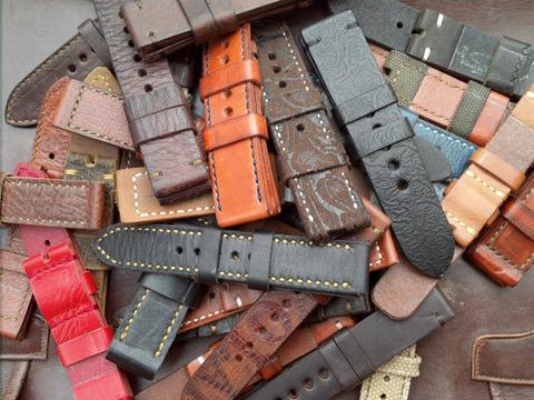 (PART 40) Leather Strap Vintage uk 20/22/24mm. year end sale 2015
