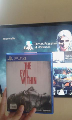 WTS BD PS4 The Evil Within Reg 3 BD PS 4