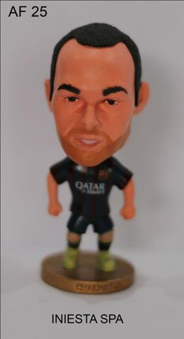 ACTION FIGURE OR MINIATUR PEMAIN A.INIESTA