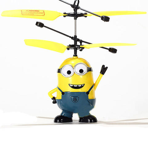 FLYING MINION RC HELICOPTER TOYS   BONEKA TERBANG MINION - MAINAN ANAK2 d1d680d6c5