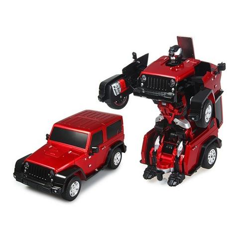 RC Radio Remote Control Transformer Vehicle Car Deform Robot - TT665