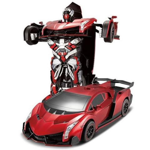 RC Radio Remote Control Transformer Vehicle Car Deform Robot - TT667