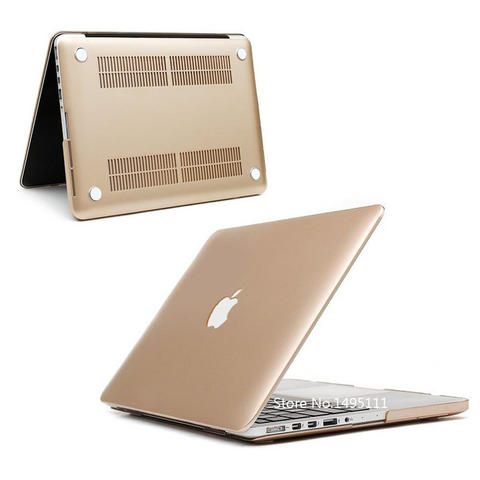 Hard Plastic Metal Case for Macbook Air 13.3 Inch GOLD