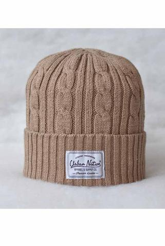 #Orthodox : cable pattern knit beanies from URBAN NATIVE brand