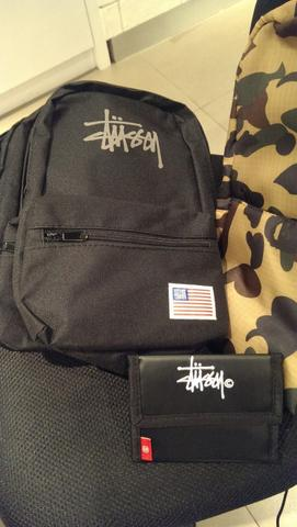 BAPE, STUSSY Sling Bag & Wallet [Brand New]