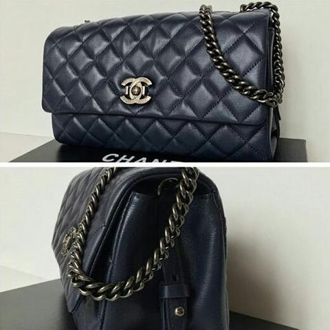 b78c7026ca3f52 JUAL TAS CHANEL CITY ROCK FLAP BAG MIRROR QUALITY | Sms: 0812 17 37 9888