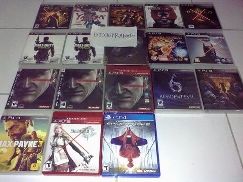 PS3 Yakuza,DOA5,H.Front,MW3,UC3,MGS4,RE6&ORC,FF13,M.Payne3&PS4 Spiderman