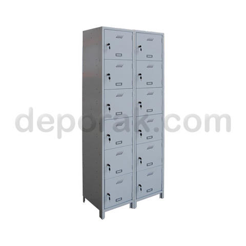 LOCKER 6 PINTU (2 BAY)