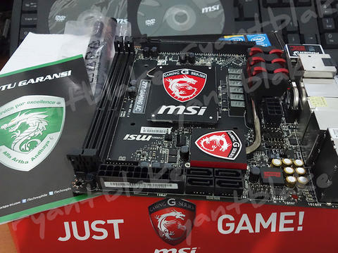 Motherboard Z97I Gaming AC, Like New!!!