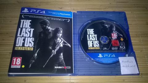 WTS / WTT BD PS4 Last of us Remastered