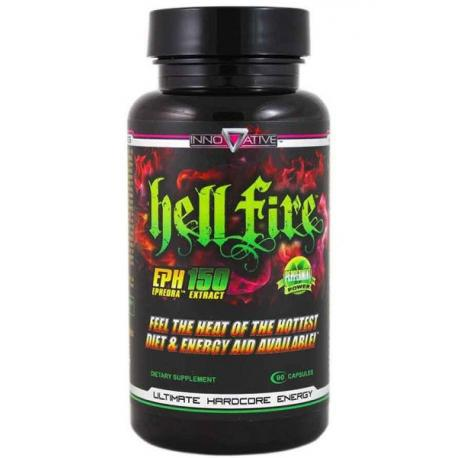FATBURNER! INNOVATIVE LABORATORIES HELL FIRE (90 Caps)