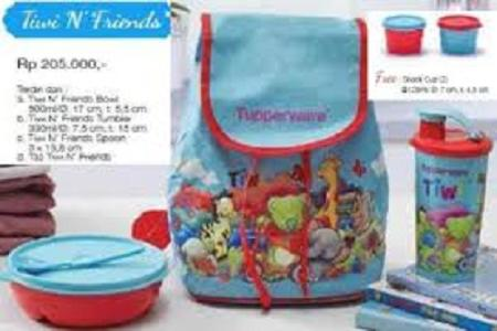 Tupperware Tiwi n Friend free 2 snack cup
