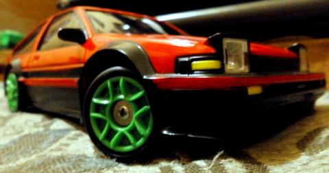 Auldey Drift 1/24 AE86 FeiLun BBS 1/28 Skyline R34 second SEPAKET