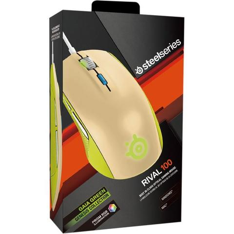 Terjual  CrossTech  Steelseries (SS) Rival 100 Green Mouse Gaming ... ec3da78a21