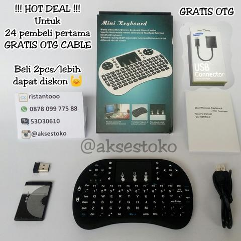 Keyboard Multi Function for all Smartphone+BONUS OTG