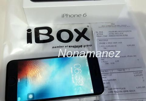IPHONE 6 Space Gray 16GB [Garansi IBOX 11 Bulan++]