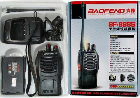Radio HT Handy Talkie Baofeng 888s, Dual Band Single Band