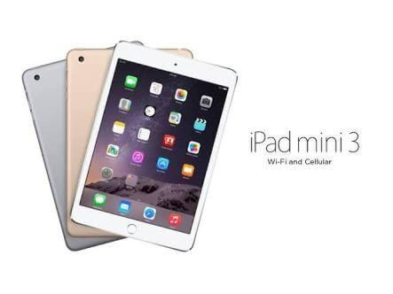 NEW IPAD mini 3 Wi-Fi+Cellular 16gb silver