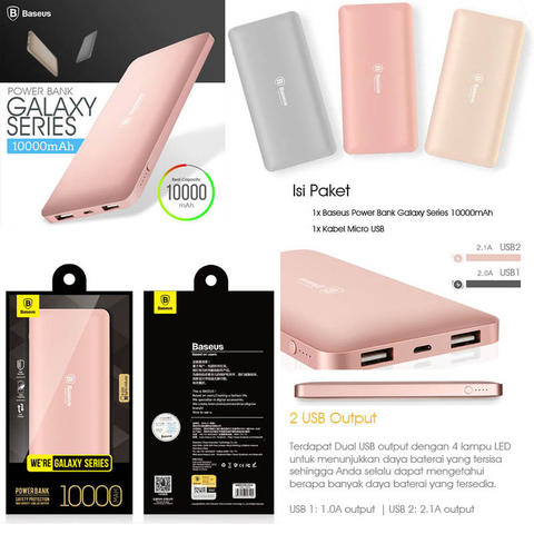 Powerbank Baseus Original Murah