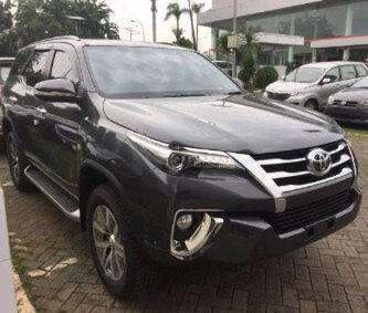 All new fortuner VRZ