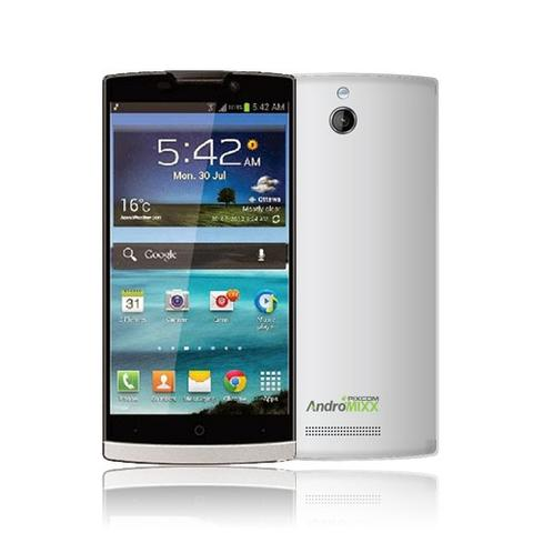 Pixcom AndroMIXX Quadcore 1GB 8MP + Bonus vol data 24 GB Murah (Putih)