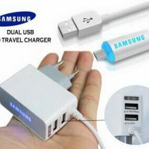 Travel charger samsung LED