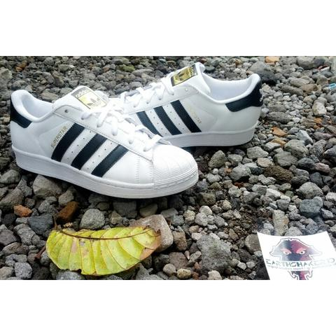 ADIDAS SUPERSTAR FOUNDATION PACK WHITE BLACK ORIGINAL