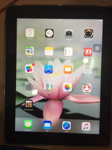 Ipad 3 , 64GB , simcard dan wifi, fullset, mulus with bonus