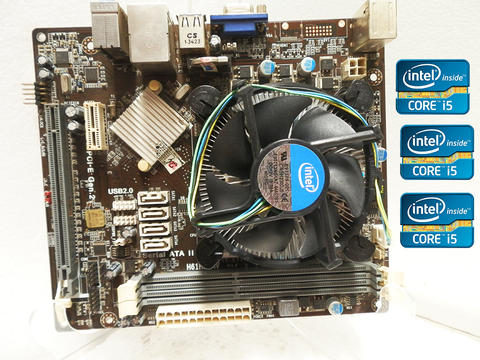 Jual Murah : Processor Intel Core i5 - 3470 + Motherboard ECS H61