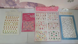 nail art sticker / nail art / nail stiker