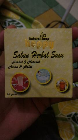 Natural Soap Heppy