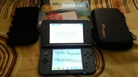 WTS New3ds XL black 64gb CFW emunand 10.3 Solo