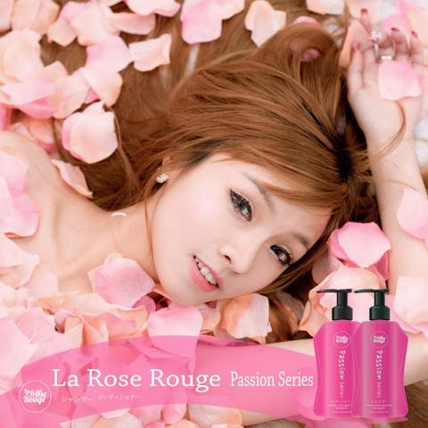 La Rose Rouge Passion series Repair Damaged Hair shampoo & conditioner package