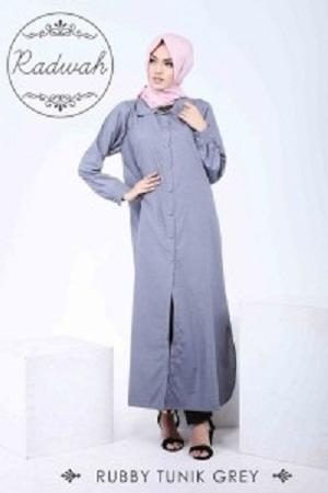 Rubby Tunik Grey (Available Color : ABU TUA)
