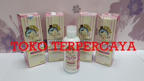 gluta o over white lotion collagen