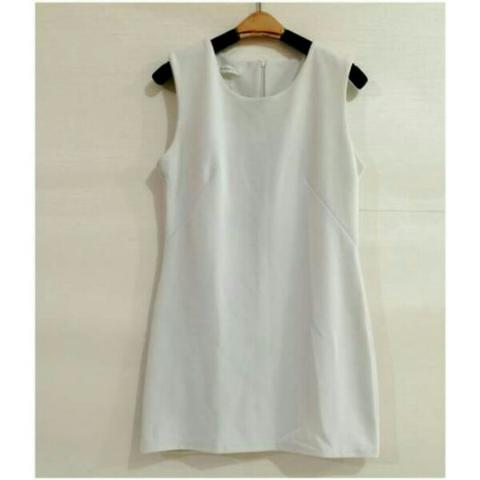 Mini Dress Broken White