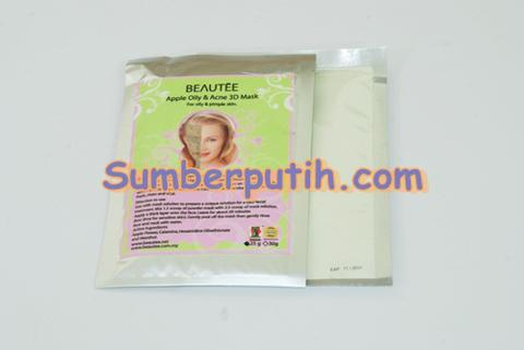 Beautee Green Apple Oily & Acne 3D Mask