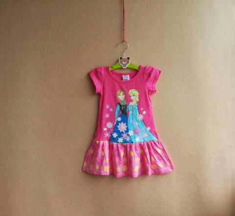 Dress Frozen Pinky Kid BR6526