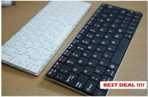 Keyboard Bluetooth Untuk Tablet PC iPad iOs Android PC Laptop