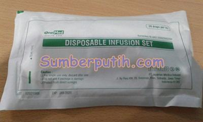 Selang Infus Disposable Infusion Set OneMed