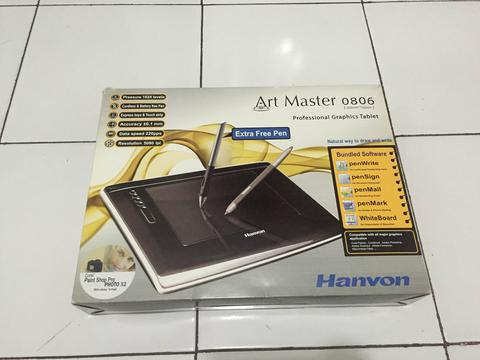 Hanvon Graphic Tablet - Art Drawing Master III 0806