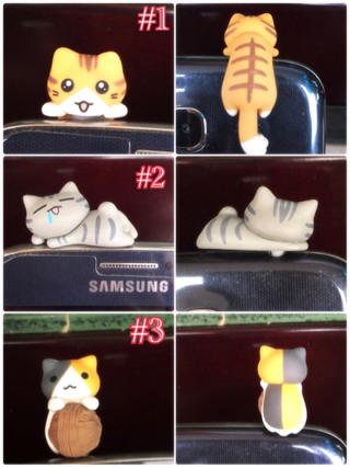 Plug/Dust plug/Pluggy cute cartoon cat