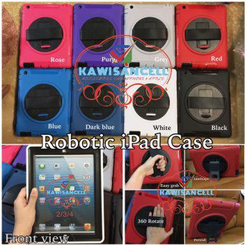 Robotic Cover Case for iPad 2/ 3/ 4/ AIR - Malang