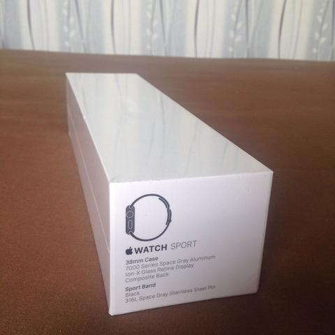 Apple Watch Sport 38mm Space Grey BNIB!